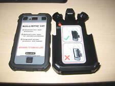 AGF iPhone 4 Ballistic Rugged Shell & Holster - Gray / Black