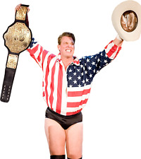 JOHN BRADSHAW LAYFIELD 8X10 PHOTO WRESTLING PICTURE WWE WITH BELT WWF WWE