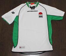 NEW Jack Jones IRAQ Soccer Jersey Adult XS X-SMALL World Cup White Green RARE!!!