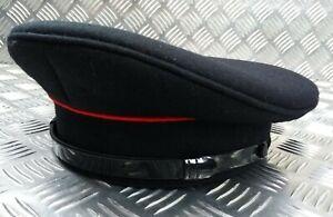 Genuine British Fire Service Senior Officers Dress Cap Incomplete 60cm NEW ROB16
