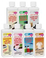 HG Stain Away No's. 1-7 removes stains from textiles & FREE P&P 50ml