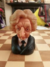 Vintage Retro Spitting Image Productions Margaret Thatcher Squeaky Dog Toy 1984