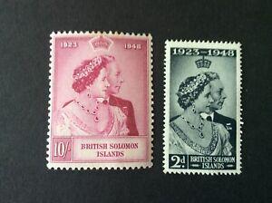 Solomon Islands1948 Royal Wedding Mint