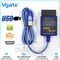 Vgate ELM327 OBDII V1.5 USB Cable Laptop Car Vehicle Diagnostic Auto Scan Tool