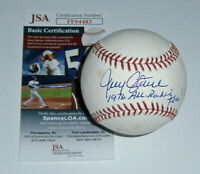 BREWERS Jerry Augustine signed baseball w/ 1976 All Rookie Team JSA COA AUTO
