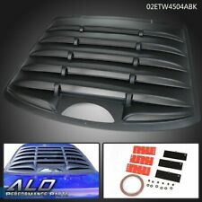Fit For 95 03 Chevy Cavaliersunfire 2 Door Rear Window Louver Shield Cover Kit Fits Pontiac Sunfire