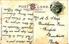 Family History Postcard - Sharp - Binfield - Bracknell - Berkshire - Ref 1196A