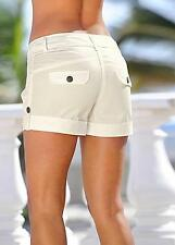 'Short Shorts' Fitted Cotton Cargo Casual Style Shorts Size 16 NEW