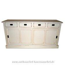 Sideboard,Lowboard,Highboard,Anrichte,Halbschrank,Landhausstil,weiß, shabby chic