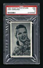 PSA 3 JUDY GARLAND 1947 Kwatta Chocolates Film Stars Card #99 RARE