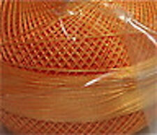 Lizbeth Cotton Thread - Size 10 - Color 696 Medium Autumn Orange