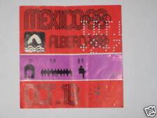 OLIMPIADI OLYMPIC 1968 MEXICO MESSICO BIGLIETTO TICKET NUOTO 18/10/68