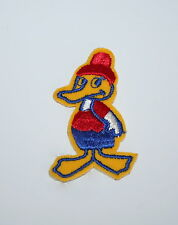 Vintage Funny Animated Duck Cartoon Animal Patch NOS 1970's