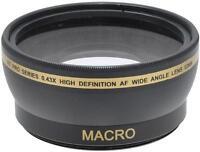 52mm Wide Angle Lens for Nikon D5500 D5300 D5200 D5100 D3300 D3200 D3100 18-55mm