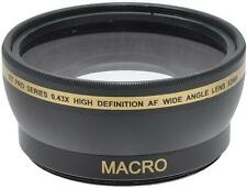 52mm Wide Angle Lens for Panasonic DMC-FZ150 DMC-FZ100 DMC-FZ60 FZ48 FZ45 FZ40