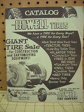 Vintage Howell Tire Company Catalog Enid Oklahoma