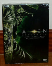 Alien Anthology Pack 4 Dvd New Sealed Science Fiction Action (Sleeveless Open)