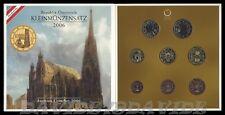 SERIE DIVISIONALE UFFICIALE ZECCA 8 MONETE EURO AUSTRIA 2006 _ FDC
