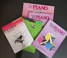 5 New And Gently Used Piano Method Books - Level 1 - Fjh -Bastien - Faber