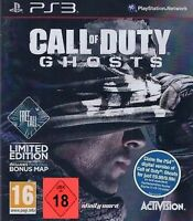 PS3 Spiel  Call of Duty Ghosts Freefall Free Fall Limited Edition  NEU