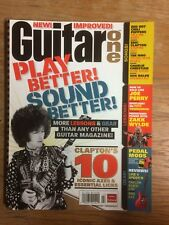 Guitar One Magazine Feb 2007 Eric Clapton Red Hot Chili Peppers