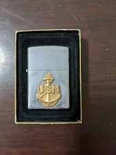 Us navy zippo lighters Large Anchor
