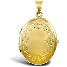 Collares y colgantes de joyería amarillo oro amarillo