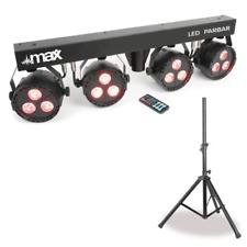 Eclairage 4 Projecteurs Leds sur Barre de Gestion Automatque ou DMX avec Pied