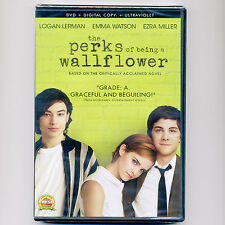 Perks of Being a Wallflower 2012 PG-13 comedy drama movie, new DVD Emma Watson