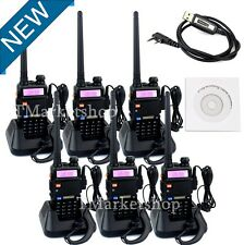 6PCS Portable Radio Scanner SET Police Fire Transceiver UHF VHF HAM Antenna NEW