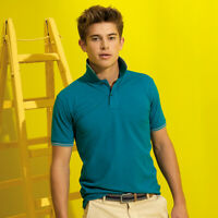 Asquith and Fox Men's Classic Fit Tipped Polo Shirt - 20 Colours - Small - 3XL
