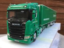 Wsi Scania S Series Country Crest With Fridge Trailer 1:50 Scale