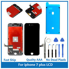 """iPhone 7 Plus 5.5"""" Replacement 3D Touch Screen LCD Digitizer Display Black Tools"""