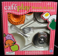 small world toys CAFE PLAY BRUNCH DU JUR 9pc cookware set ages 5 yrs+ NIB