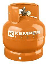 Kemper bombola a gas 2 Kg vuota ricaricabile 1160 campeggio attacco italiano