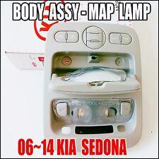 KIA 2006-2014 Sedona Over head Console Lamp Map Sliding Doors Gray 92821-4D100QW