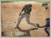 2020 Topps Stadium Club CHROME Zack Collins Rookie Card RC Chicago White Sox SP
