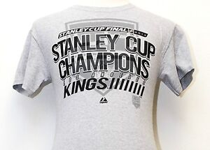 Stanley Cup Final NHL 2012 Stanley Cup Champions Los Angeles Kings T-Shirt C86 S