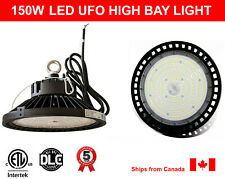 150W High Bay LED Light UFO 22400Lm cETL DLC Certified 5000K (Daylight)
