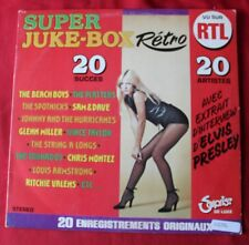 Super juke box - 20 succés + extrait interview elvis presley,  LP - 33 tours