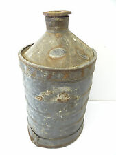 Antique Old Sexton Can Co Boston Mass Standard Milk Jug Large Container Bucket