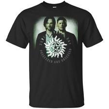 The Supernatural TV Series Black Men's T-Shirt (Design 3)