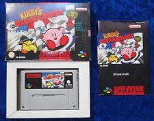 Kirbys Dream Course, OVP Anleitung, SNES, Super Nintendo Spiel