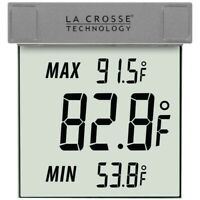 La Crosse Technology Outdoor Window Thermometer  (WS-1025)