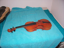 Vintage Violin Copy of Antonius Stradivarius Made in Germany in fair condition