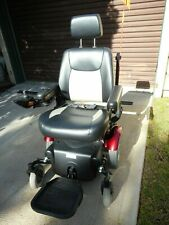 "AS NEW MERITS MAVERICK 14"" Mid-Wheel Powerchair / Electric Mobility Wheelchair"