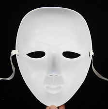 Scary White Face Mask Halloween Masquerade Ball Party Dance Costume Masks