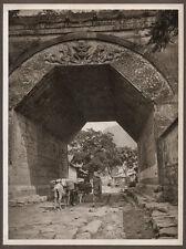 1920's CHINA GRAVURE PAGEANT OF PEKING DONALD MENNIE - GATE AT CHU YUNG KUAN