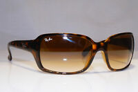 RAY-BAN Mens Womens Vintage 1990 Sunglasses Brown Rectangle RB 4068 710/51 21364