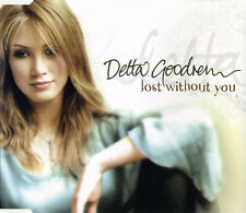 "DELTA GOODREM ""LostWithoutYou"" 2003 3TrkCD *AcousticVersion ""InMyOwnTime"" *Voice"